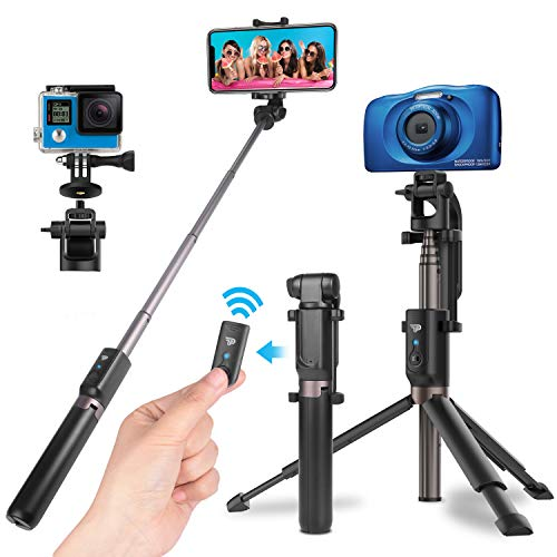 Power Theory Bluetooth Selfie Stick mit Handy...