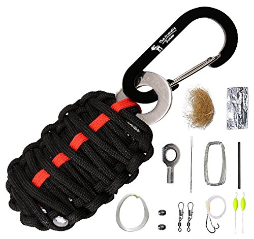 The Friendly Swede Paracord-Survival-Kit -...