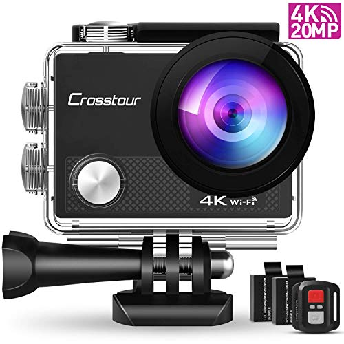 Crosstour CT9000 Action Cam Unterwasserkamera...