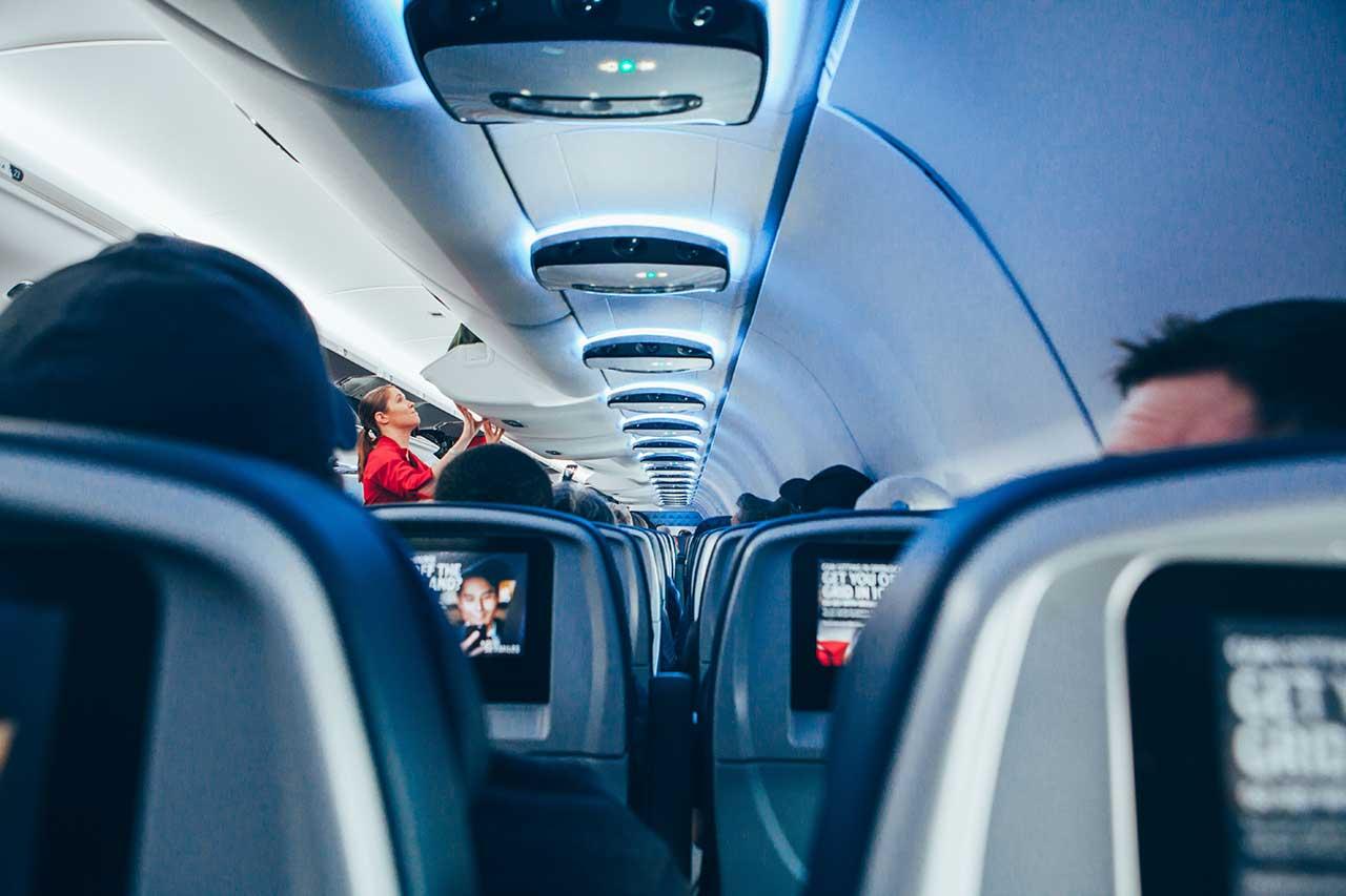 Beste Plätze im Flugzeug