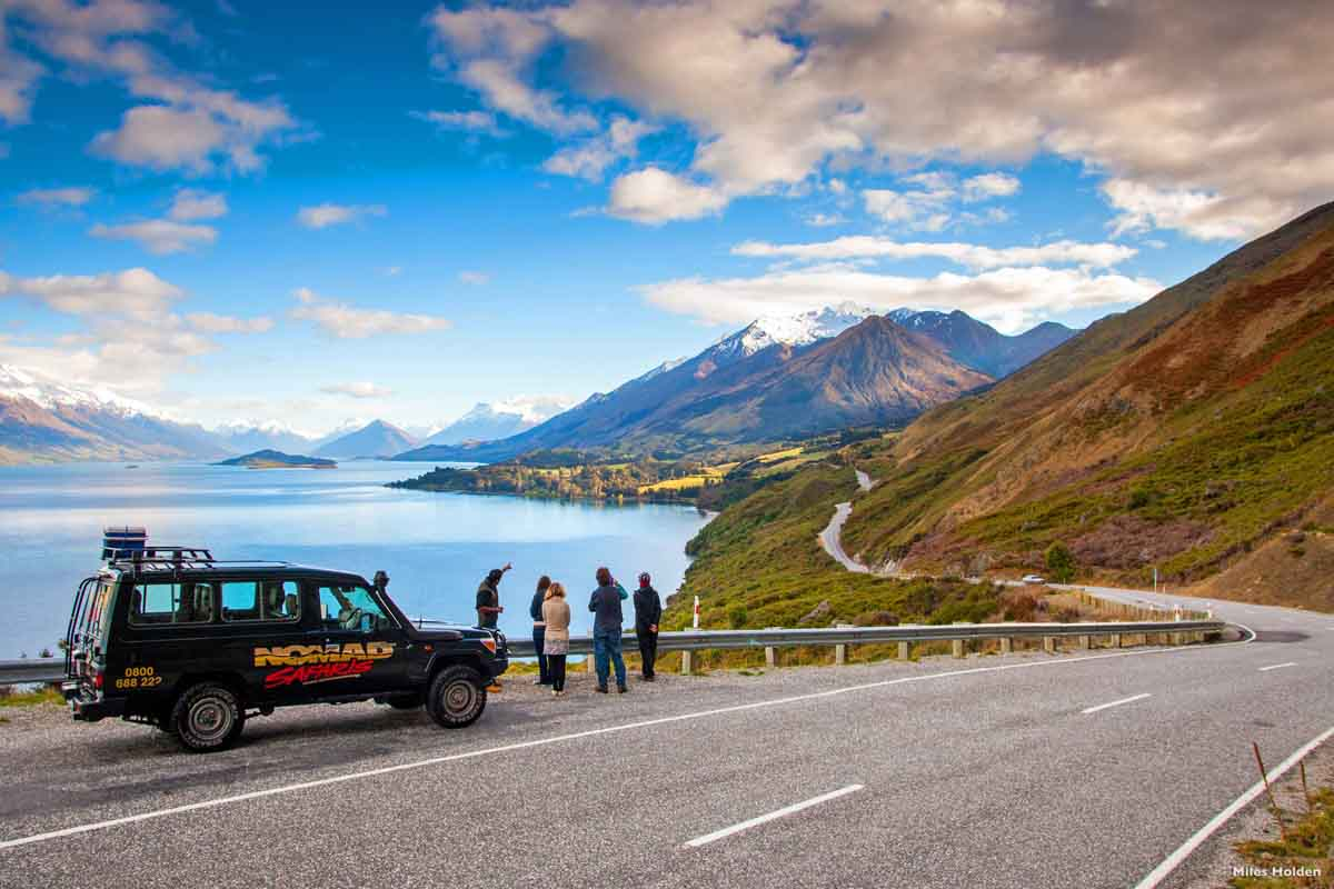 Neuseeland Highlights Glenorchy Lake Wakatipu