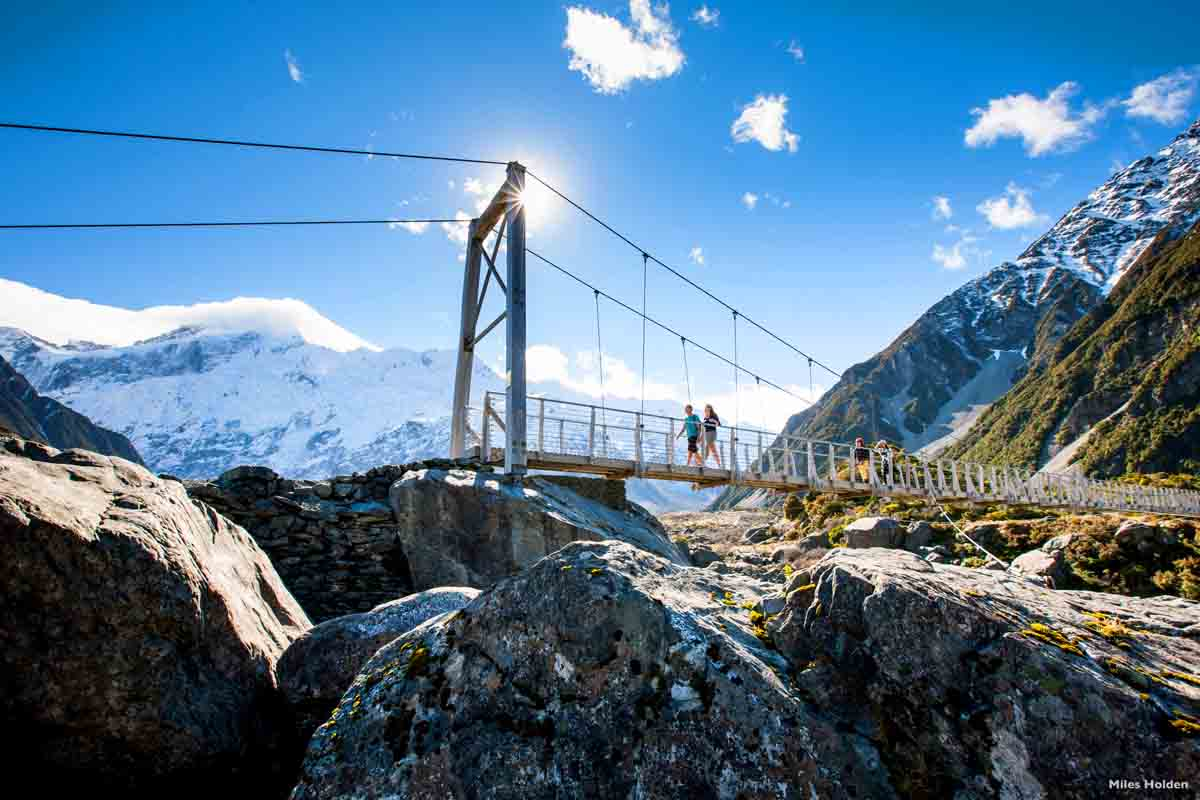 Neuseeland Highlights Hooker Valley