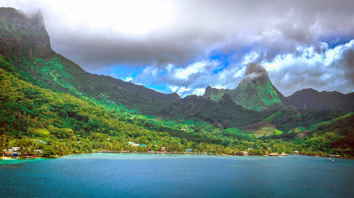 Französisch-Polynesien Moorea Überseegebiete EU