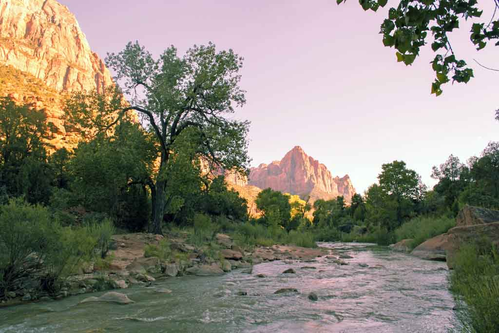 Bekannteste Nationalparks USA Highlights Zion Nationalpark