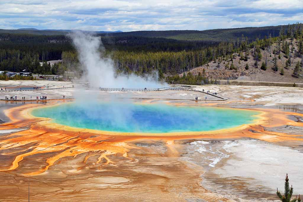 Die schönsten Nationalparks USA Liste Yellowstone Nationalpark in Wyoming