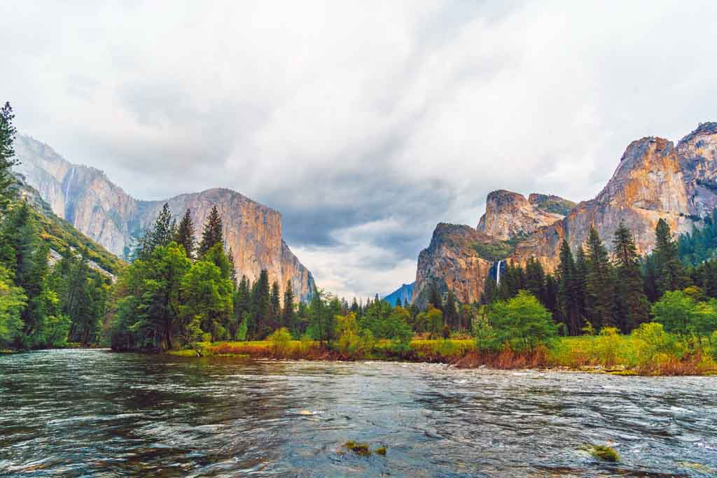 Die schönsten Nationalparks USA Liste Yosemite Nationalpark