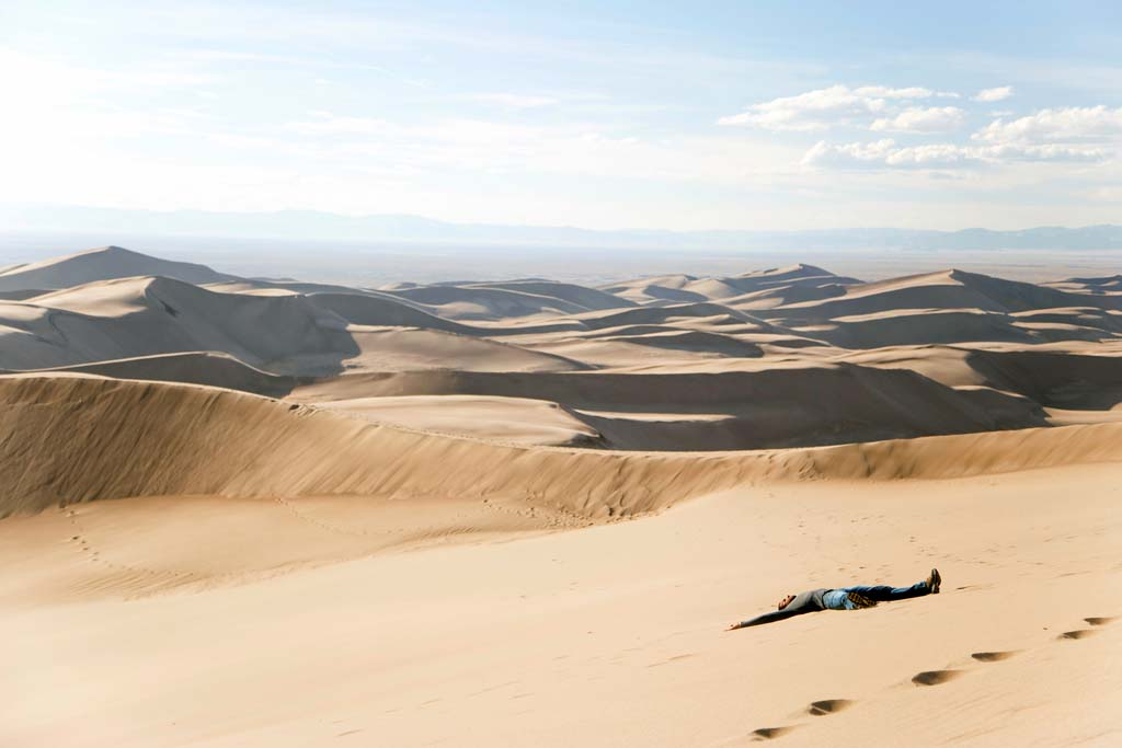 Die schönsten Nationalparks in den USA Liste Great Sand Dunes Nationalpark