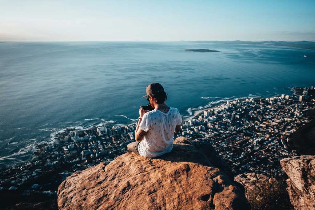 Der Tafelberg in Kapstadt ist ein Weltwunder der Natur