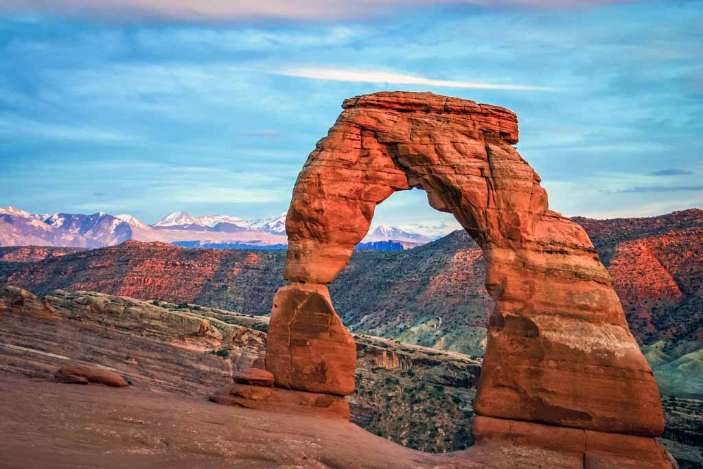 Nationalparks USA Liste Arches Nationalpark USA Sehenswürdigkeiten