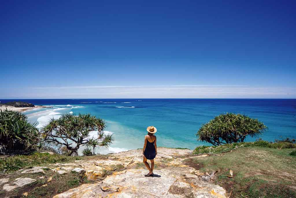 Queensland Reiseziele Brisbane North Stradbroke Island