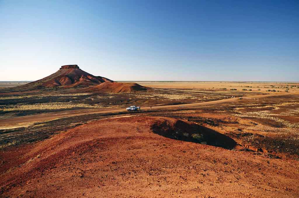 Queensland Reiseziele Diamantina National Park Winton