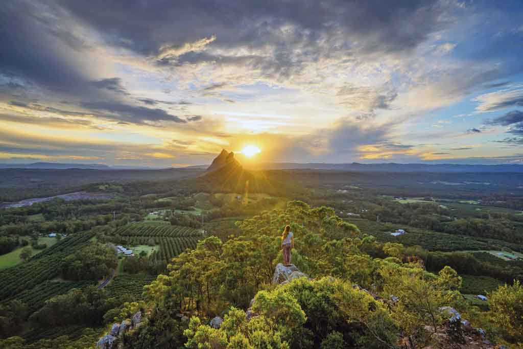 Reiseziele Queensland Glass House Mountains
