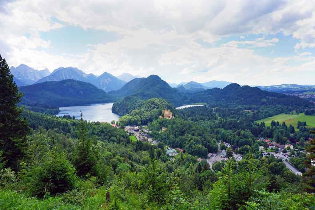 Allgäu Ausflugsziele Alpsee Schloss Hohenschwangau