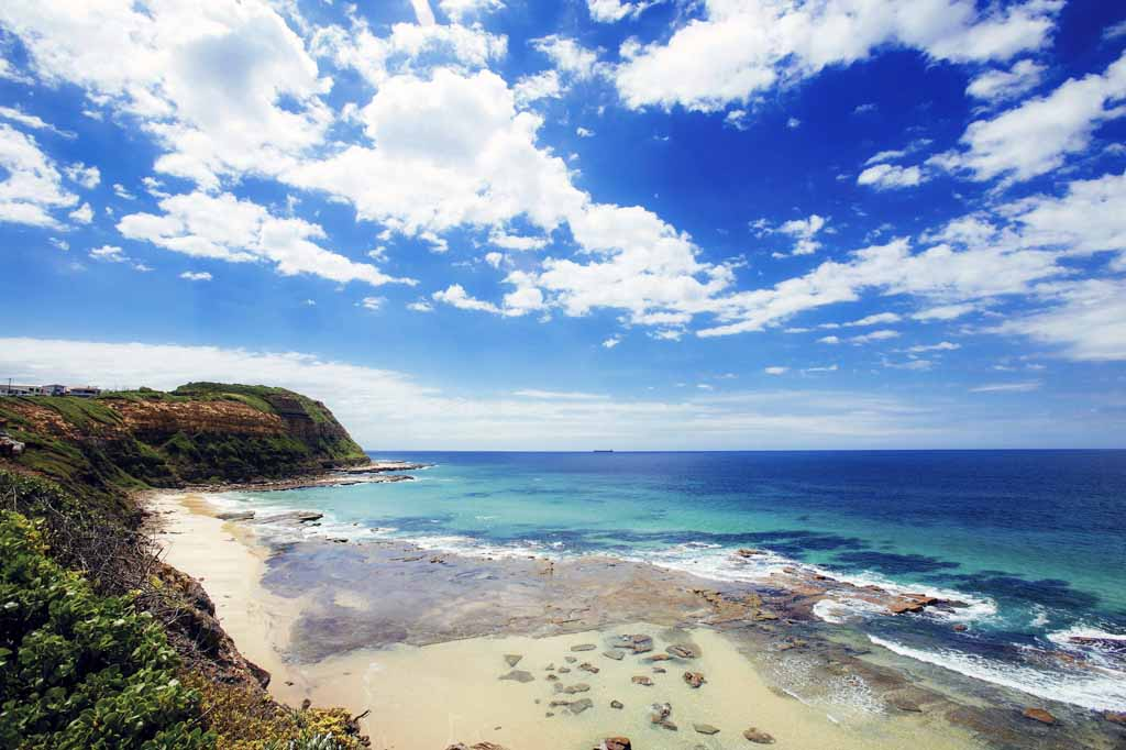 Sehenswürdigkeiten New South Wales Australien Merewether Beach Newcastle