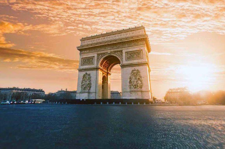 Frankreich Sehenswürdigkeiten in Frankreich Urlaub Tipps Paris Arc de Triomphe