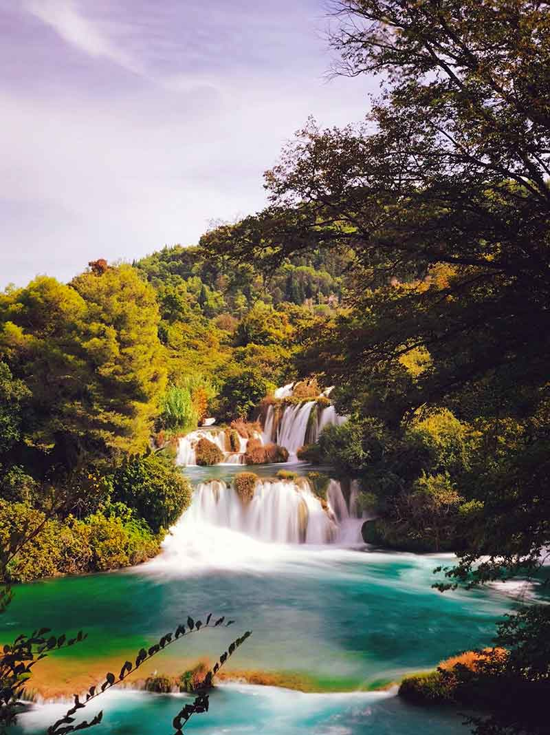 Reiseziele Kroatien schönste Orte Nationalpark Krka