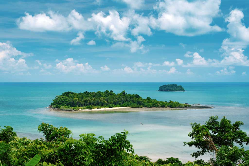 Schönste Thailand Inseln Koh Chang Kai Bae View Point
