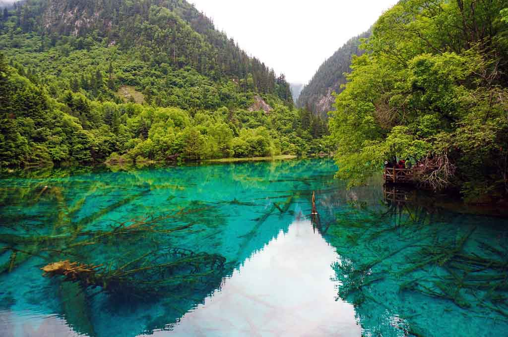 China Nationalparks Jiuzhaigou