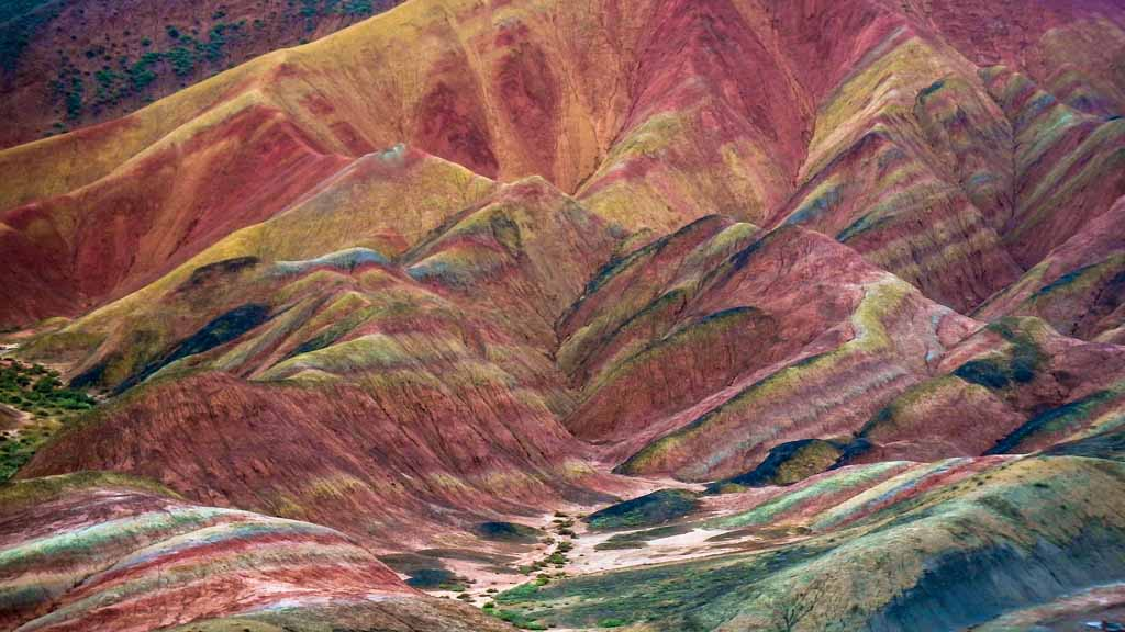 China Nationalparks Zhangye Danxia