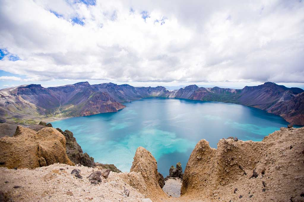 China Natur Changbai Shan Gebirge