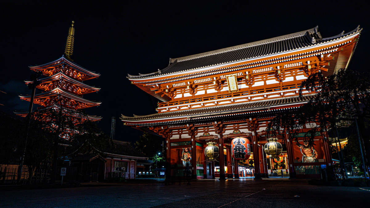Senseo Ji Tempel in Japan