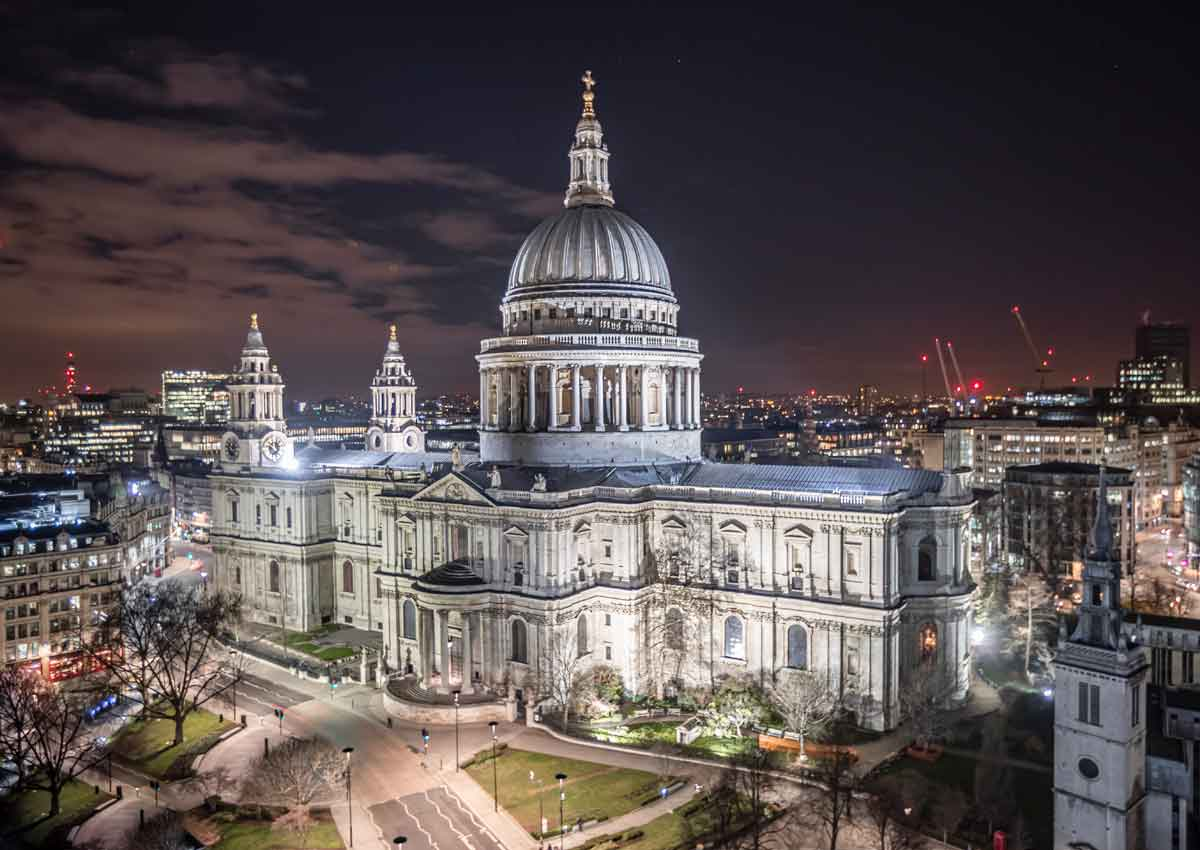 Reise nach London St Pauls Cathedral