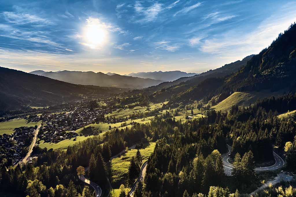 Beautiful places Bavaria Bad Hindelang