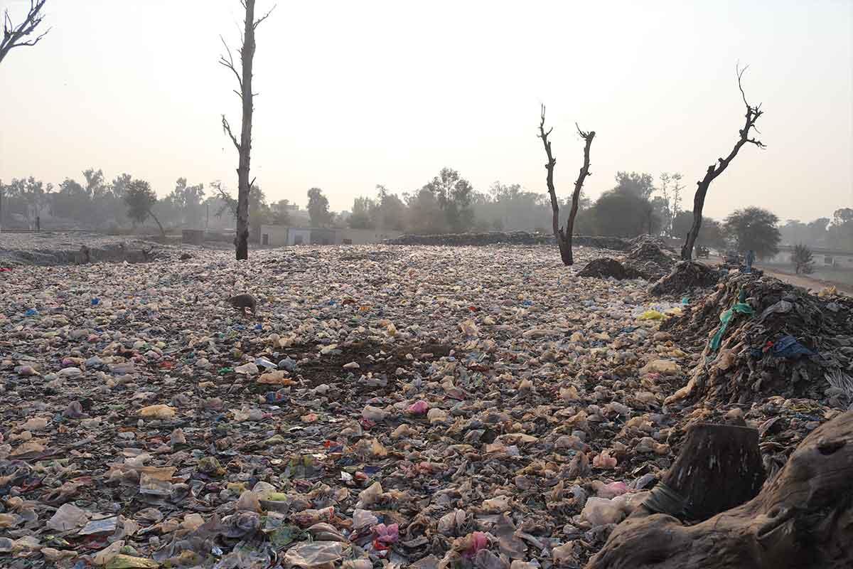 Müllkippe in Pakistan
